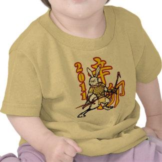 Zodiac Warriors Year of the Golden Rabbit Kids Shirt