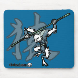 Zodiac Warriors: Year of the Monkey Mouse Pad