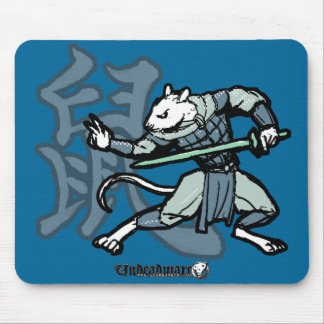 Zodiac Warriors: Year of the Rat Mouse Pad