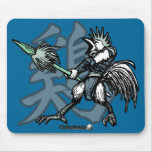 Zodiac Warriors: Year of the Rooster Mousepads
