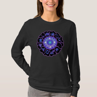 Zodiac Wheel Astrological Signs T-Shirt