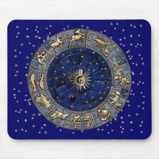 Zodiac Wheel Mouse Mat