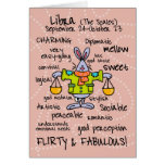 zodiac word cards - libra