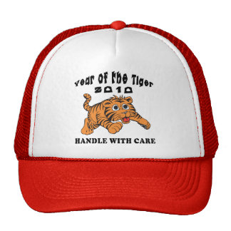 Zodiac Year of The Tiger 2010 Baby Tiger Trucker Hat