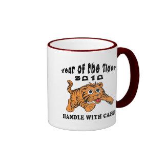 Zodiac Year of The Tiger 2010 Baby Tiger Coffee Mug