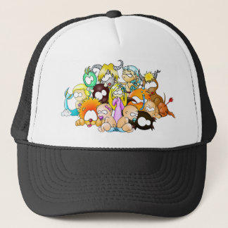 ZodiaK babes Trucker Hat