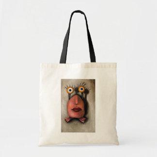 Zoe 1 little alien canvas bag