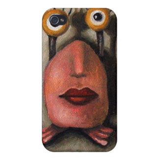 Zoe 1 little alien iPhone 4 cases