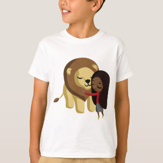 Zoe and Peanut the Lion T-Shirt