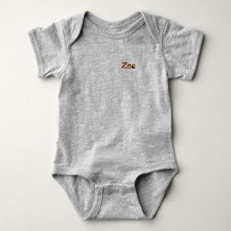 Zoe Baby Jersey Bodysuit