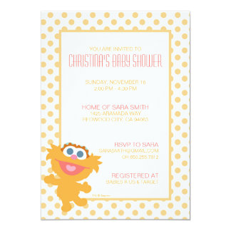 Zoe Baby Shower Invite