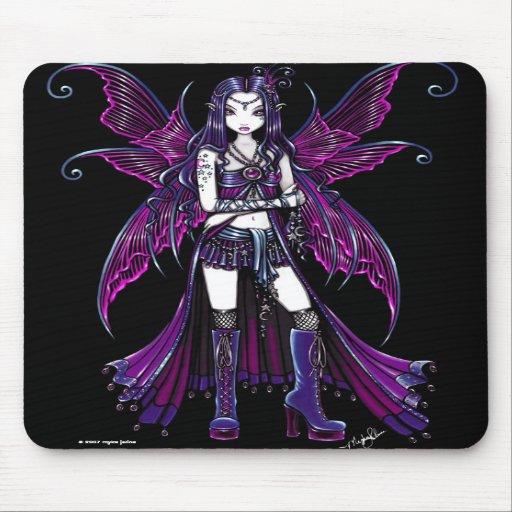 """Zoe"" Celestial Pink Fairy Mousepad"