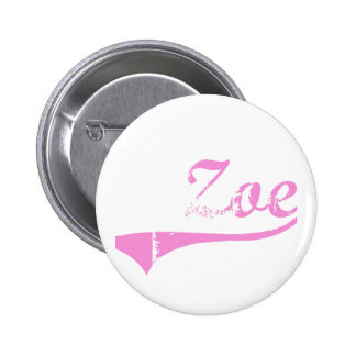 Zoe Classic Style Name Buttons