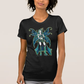 """Zoe"" Green Celetial Star Fairy Art Top Shirt"