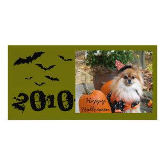 ZOE Happy Halloween, 2010 Photo Card