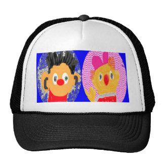 Zoe Moster n Erine R - Win Charles Licensed Galler Mesh Hats