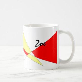 Zoe Basic White Mug