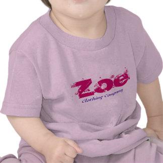 Zoe Name Clothing Company Baby Shirts