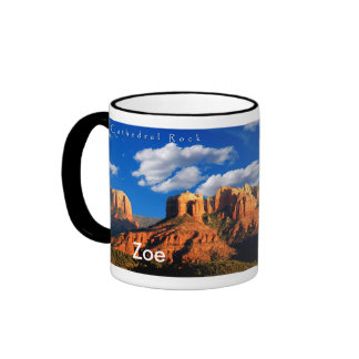 Zoe on Cathedral Rock and Courthouse Mug