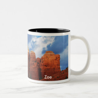 Zoe on Coffee Pot Rock Mug