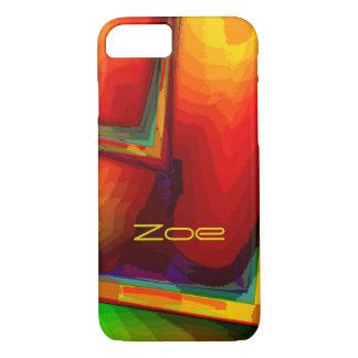 Zoe Orange Style iPhone cover