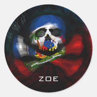ZOE ROUND STICKER
