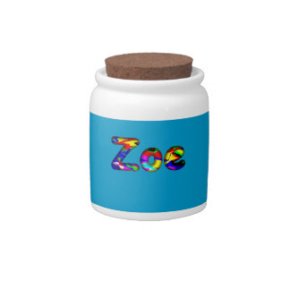 Zoe Candy Jar