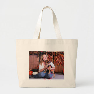 Zoey - Puggle - Carlson Tote Bags