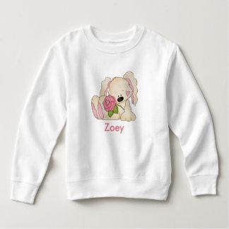 Zoey's Personalized Bunny Sweatshirt