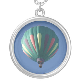 Zollie Hot Air Balloon Necklace