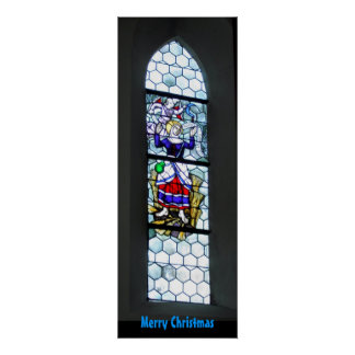Zolling Church Window Print