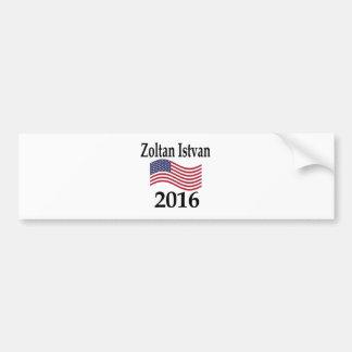 Zoltan Istvan 2016 Bumper Sticker