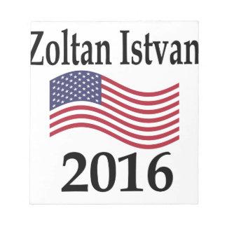 Zoltan Istvan 2016 Scratch Pad