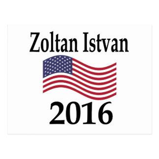 Zoltan Istvan 2016 Postcard