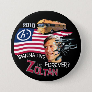Zoltan Istvan for President 2016 7.5 Cm Round Badge