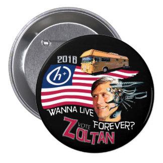 Zoltan Istvan for President 2016 7.5 Cm Round Badge