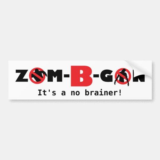 Zom-B-Gon, Bumper Sticker
