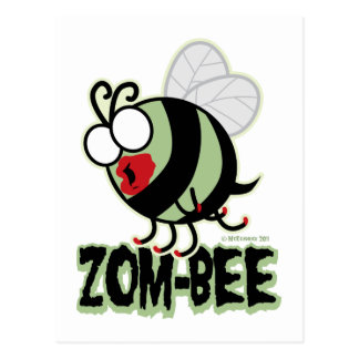 Zom-Bee Postcards