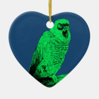 Zom-P Parrot Design Christmas Ornament