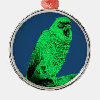 Zom-P Parrot Design Christmas Ornament