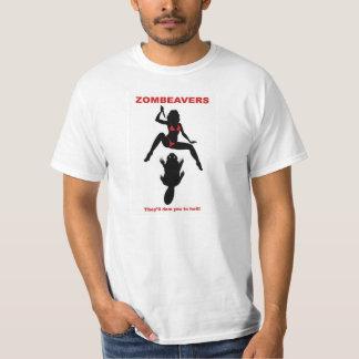 ZOMBEAVERS t-shirt