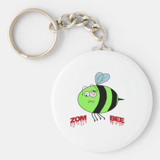 ZomBee Basic Round Button Key Ring