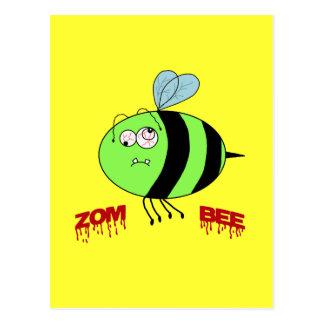 ZomBee Postcard