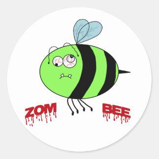ZomBee Round Sticker