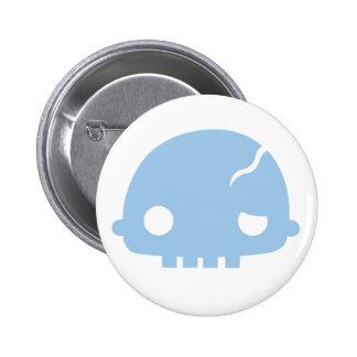 Zombi Couple Boy Pinback Buttons