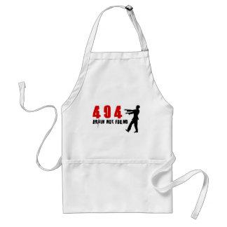 Zombie 404 aprons