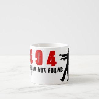 Zombie 404 espresso mug