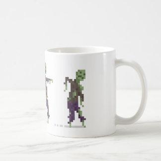 Zombie 8-Bit Pixel Art Mug