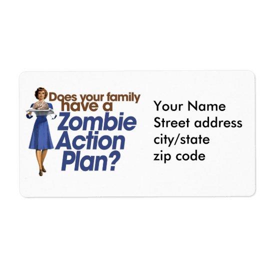 Zombie Action Plan