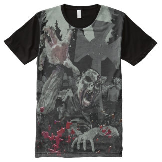 ZOMBIE All-Over PRINT T-Shirt